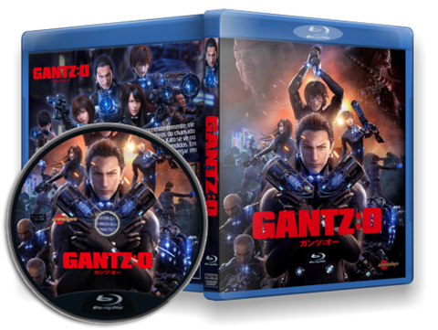 Gantz: O Blu-ray Cover