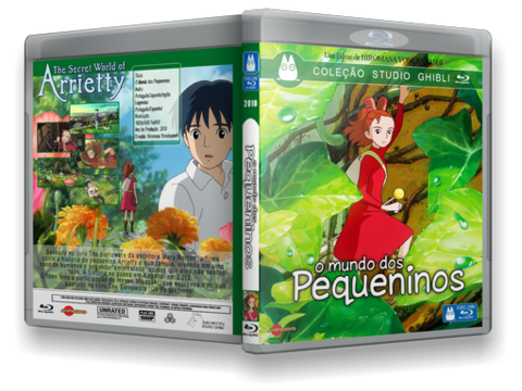 Os Pequeninos Blu-ray Cover