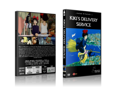 Kikis Delivery Service DVD Cover