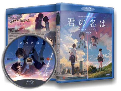Kimi no Na Wa Blu-ray Cover
