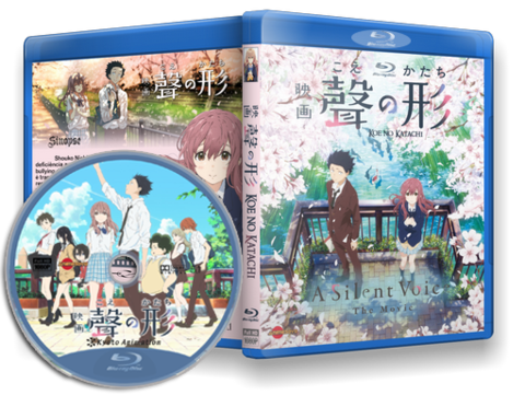 Koe no Katachi (A Silent Voice) Blu-ray Cover