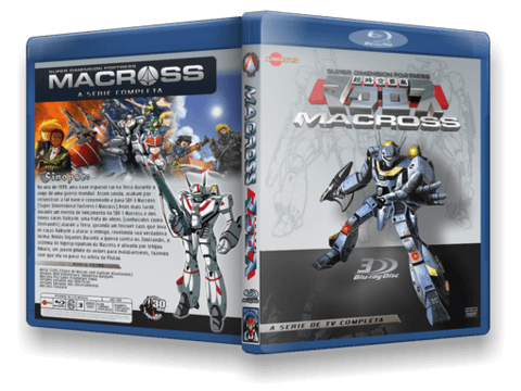 Macross TV Blu-ray Cover Capa