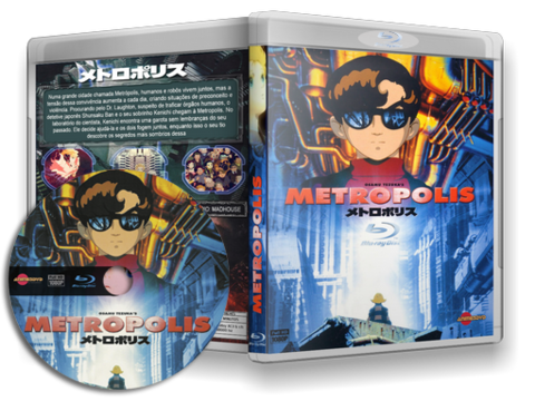 Anime Metropolis Blu Ray cover