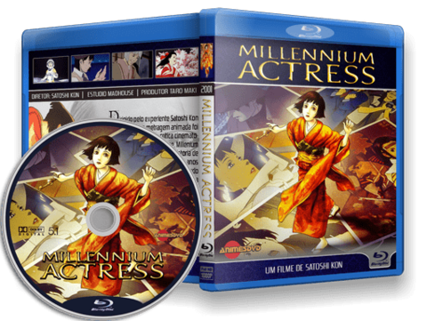 Millennium Actress Blu-ray Cover
