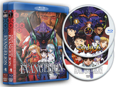 Envangelion Serie Blu-ray Cover