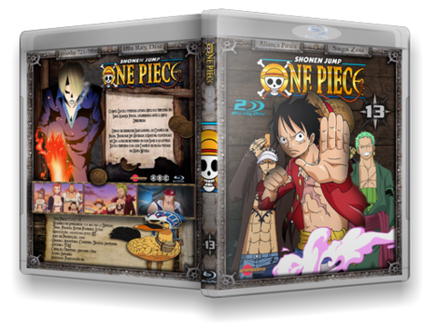 One Piece Blu-ray cover capa