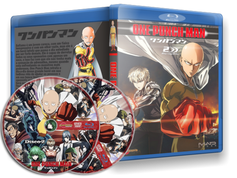 One Punch man Blu-ray Cover