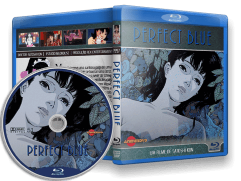 Perfect Blue Blu-ray Cover
