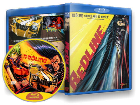 animes redline blu-ray cover
