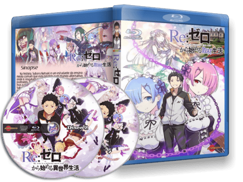Re:ZERO Blu-ray cover