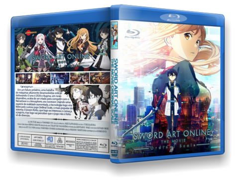 Sword Art Online The Movie Cover capa