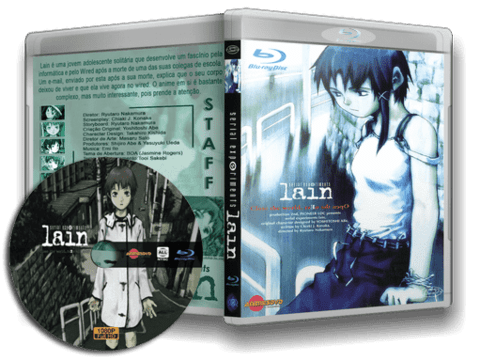 Serial Experimets Lain Blu-ray cover