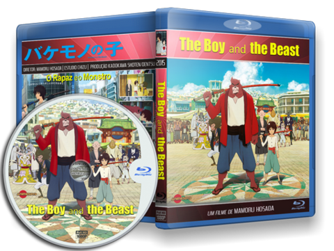 The Boy and The Beast Blu-ray Cover