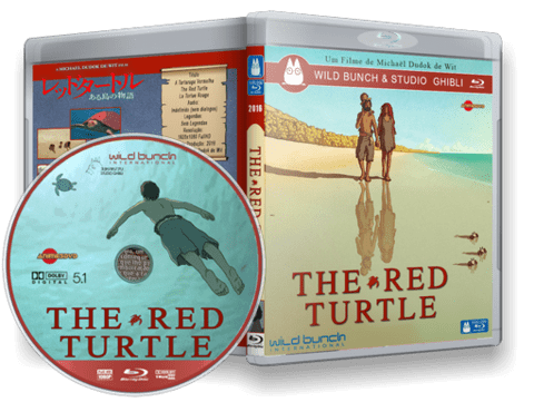 The Red Turtle Blu-ray Cover