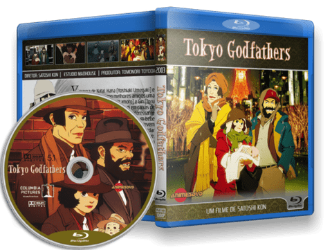 Tokyo Godfathers Cover Capa
