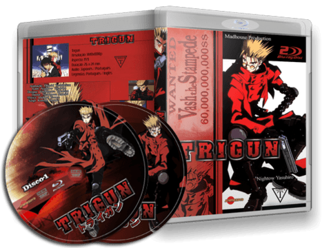 Trigun Blu-ray Cover