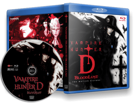 Vampire Hunter D Blu-ray cover