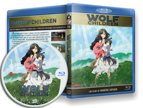 wolf's Children Blu-ray Cover