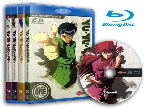 yu yu hakusho dvd completo