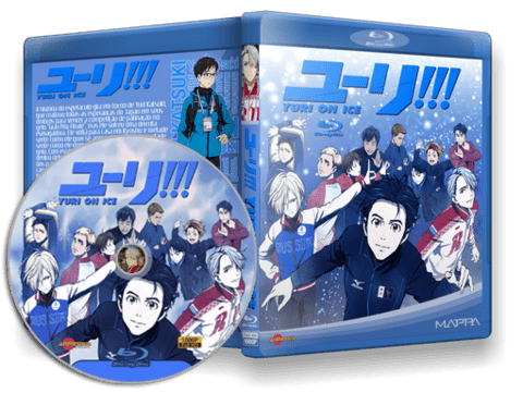 Yuri!!! on Ice Blu-ray Cover