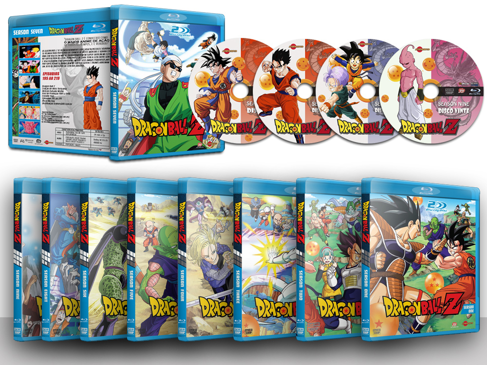 Dragon Ball Z: Completo em Blu Ray 1080p