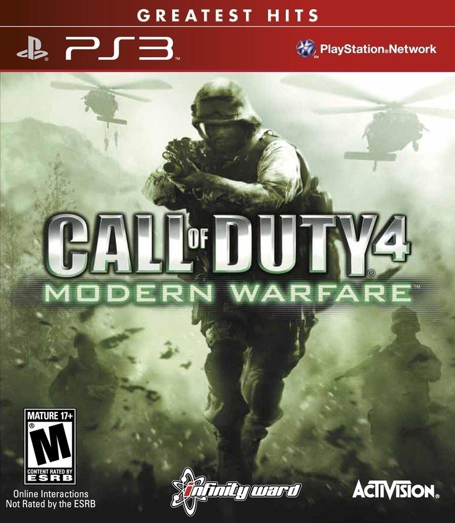 Call of Duty 4: Modern Warfare SEMINUEVO