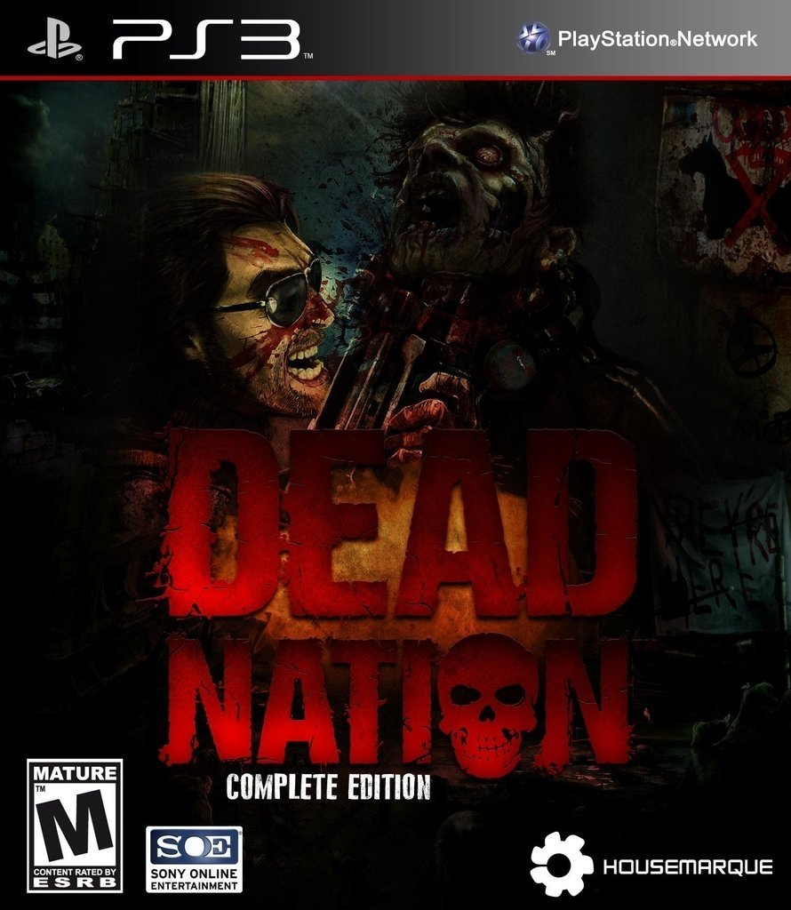 Dead Nation Ps3 Digital