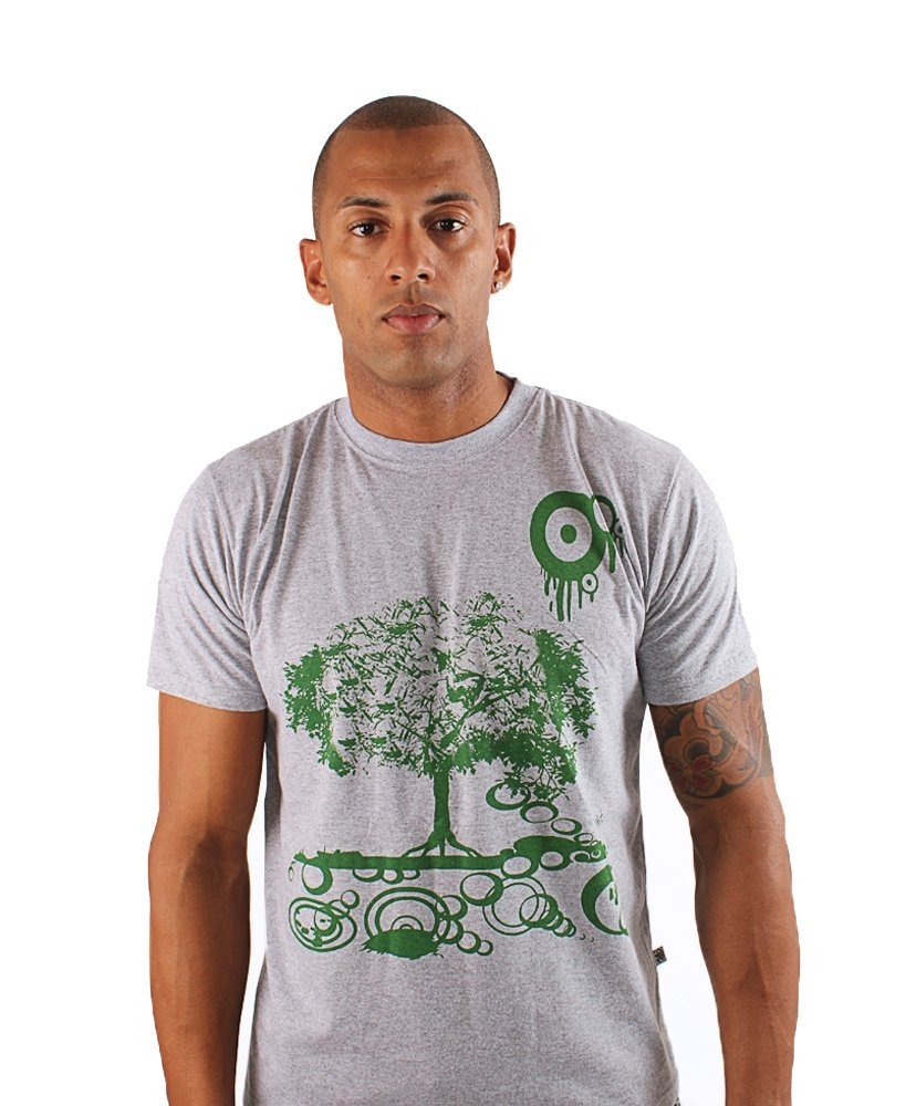 Camiseta Gola careca Green Tree