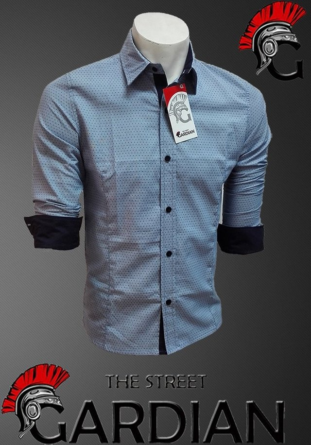 CAMISA EXCLUSIVA MINIPRINT SLIM FIT REF CHAMBRAY - comprar online