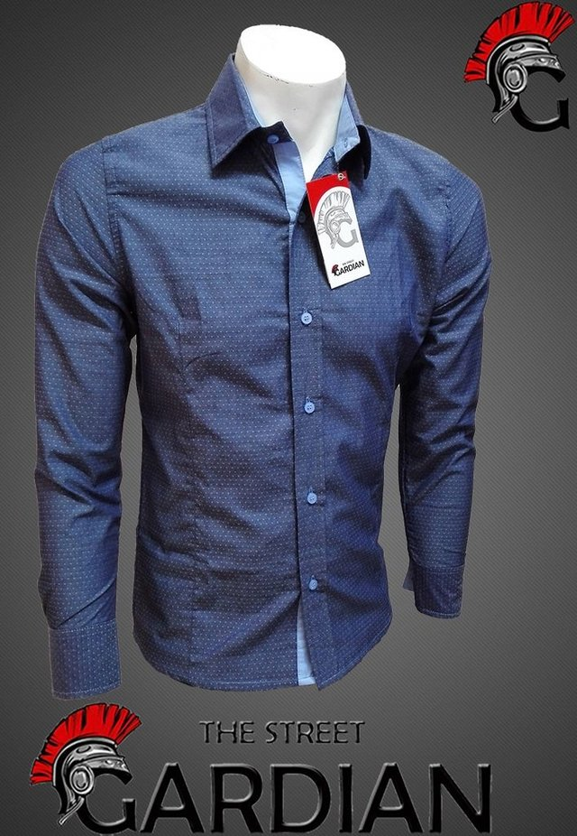 CAMISA EXCLUSIVA MINIPRINT SLIM FIT REF CHAMBRAY en internet