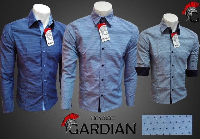 CAMISA EXCLUSIVA MINIPRINT SLIM FIT REF CHAMBRAY