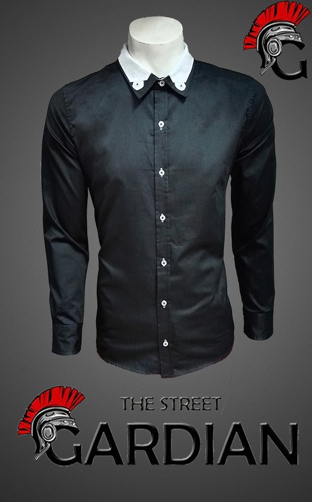 CAMISA SLIM FIT REF CHARRETERA - THE STREET GARDIAN