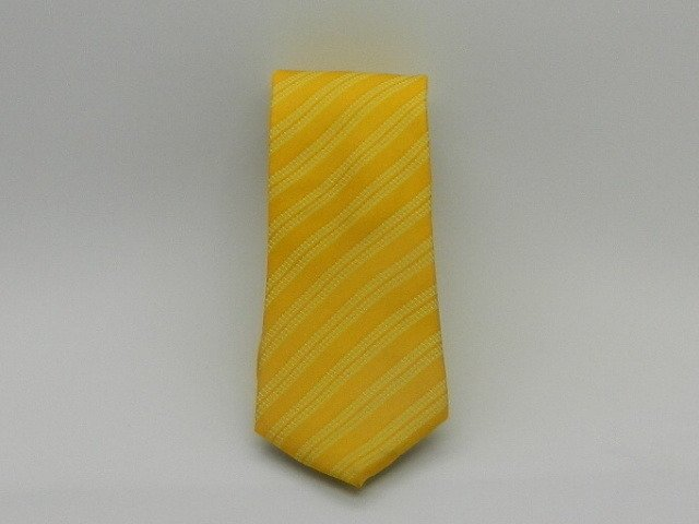CORBATA SLIM DE SEDA NATURAL ESTAMPADA línea YELLOW
