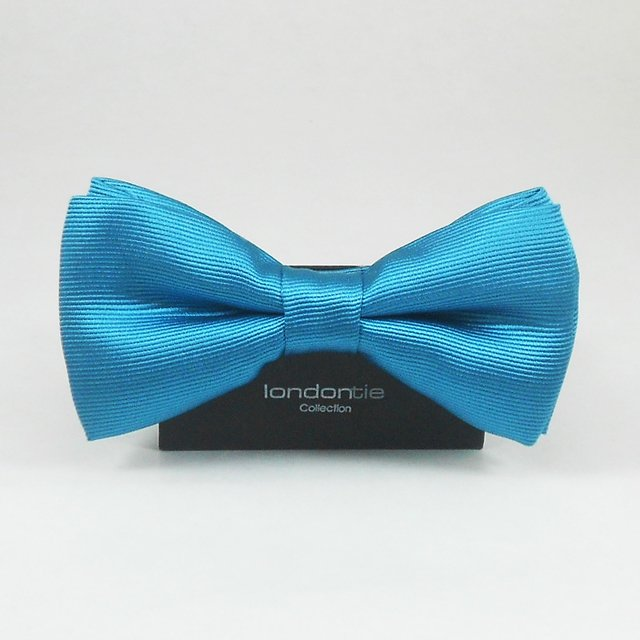 SOLID TWILL BOWTIE - LONDON TIE