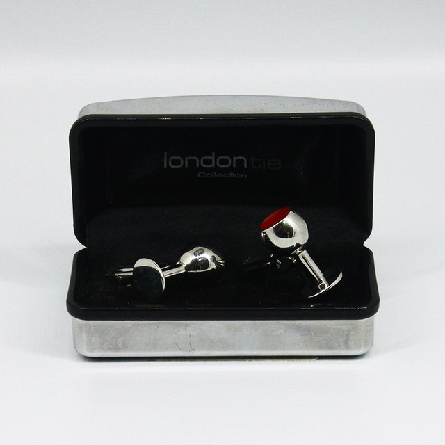 CROWN CUFFLINKS - LONDON TIE