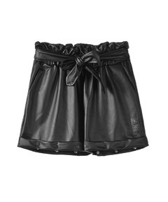 Short Faux Leather NEGRO