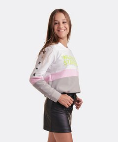 Falda Faux Leather NEGRA en internet
