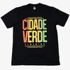 Camiseta - Cidade Verde Red, Gold and Green