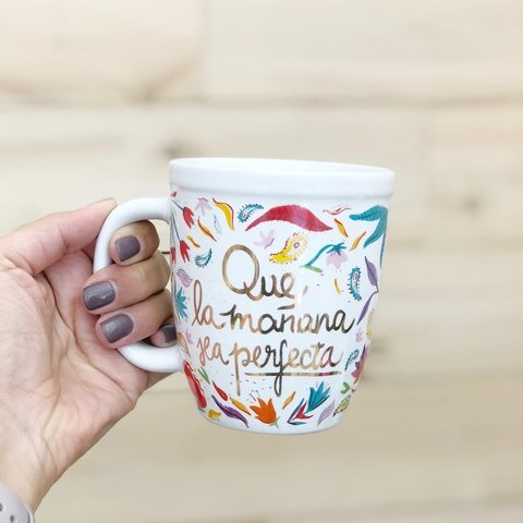 Mug Dorado Mañana Perfect