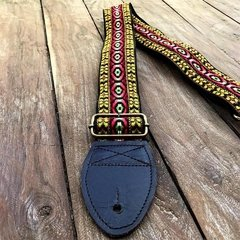 HipStrap Bohemian Red Vintage Guitar Strap Jimmy Page
