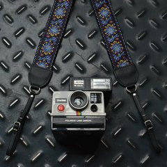 Purple Haze Vintage Style Camera Strap