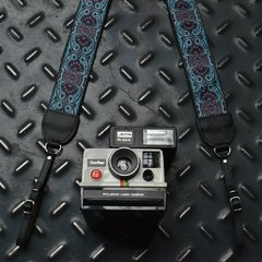 Kashmir Turquoise Vintage Style Camera Strap on internet