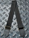 Minimal Black Seatbelt Style Guitar Strap on internet