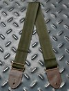 Minimal Green Seatbelt Style Guitar Strap on internet