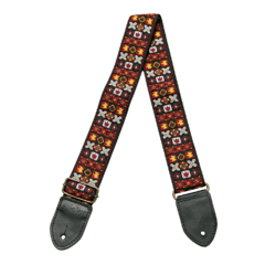 HipStrap Woodstock Red Vintage Style guitar strap ace bobby lee