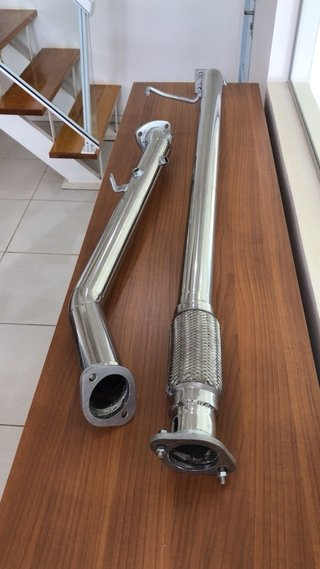 DOWNPIPE L200 ALL NEW TRITON