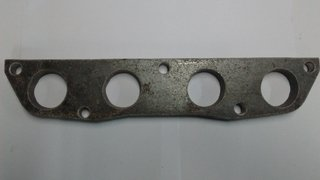 FLANGE COLETOR ESCAPE HONDA CIVIC SI