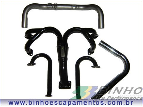 KIT FUSCA TURBO TURBINAS APL/T2 CARBURADO