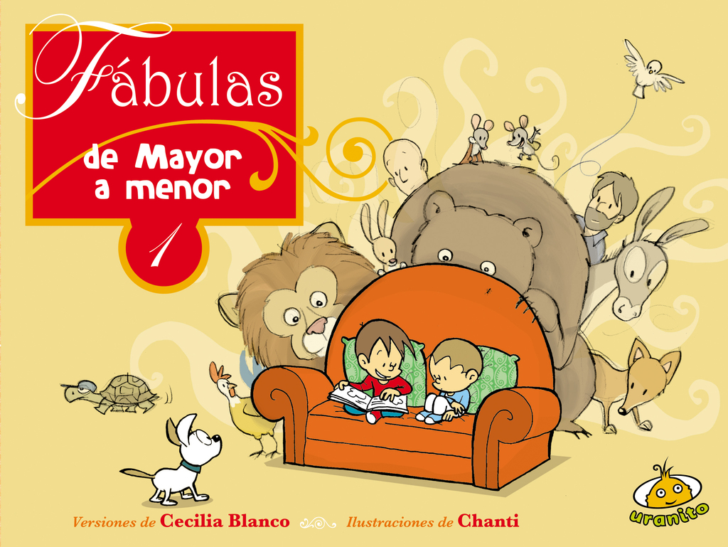 Fábulas de menor a mayor 1 / Chanti - comprar online