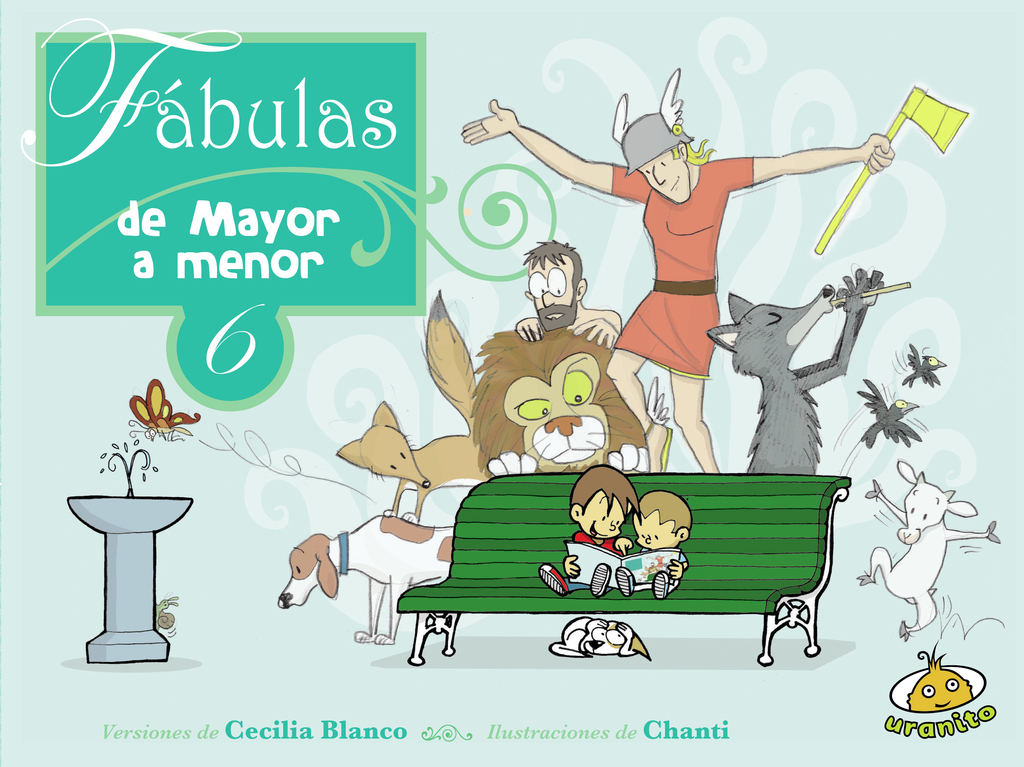 Fábulas de menor a mayor 6 / Chanti - comprar online